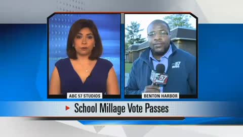 Voters approve millage proposal to fund Benton Harbor Schools