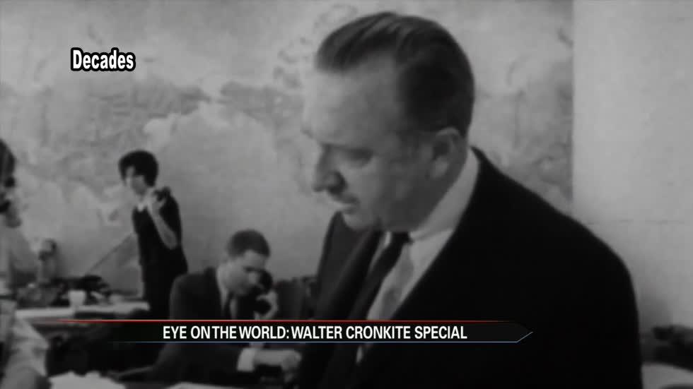 Decades Remembers Walter Cronkite