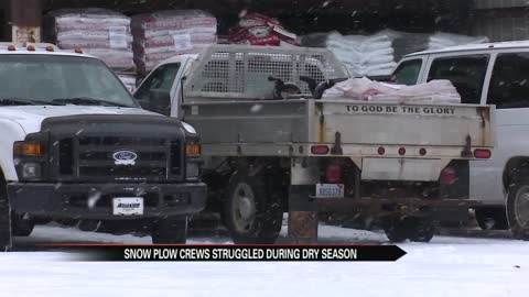 Warm start to winter puts pressure on snow removal companies