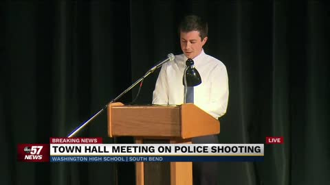 Mayor Pete Buttigieg, Police Chief Scott Ruszkowski hold town hall