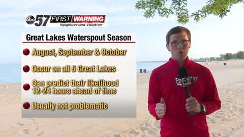 Great Lakes waterspout season is here