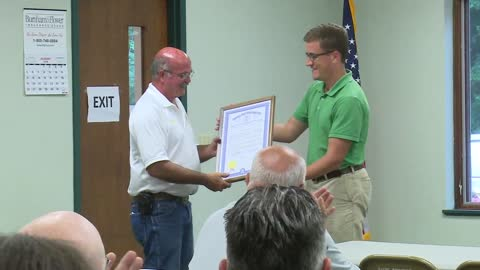 Wayne Township firefighter honored by township, State of Michigan