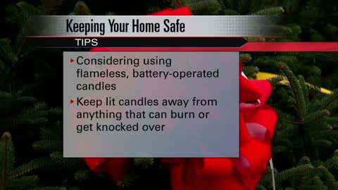 Tips to keep fire safety in mind while holiday decorating