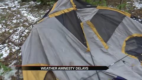 Weather amnesty site awaits state permit, paperwork not filed in timely manner