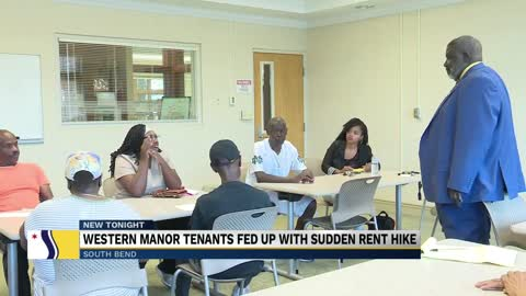 Western Manor tenants are fed up with sudden rent hike