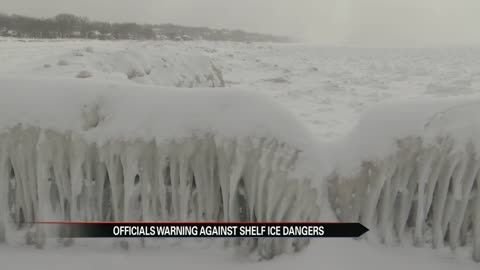 Why shelf ice on Lake Michigan is deceiving
