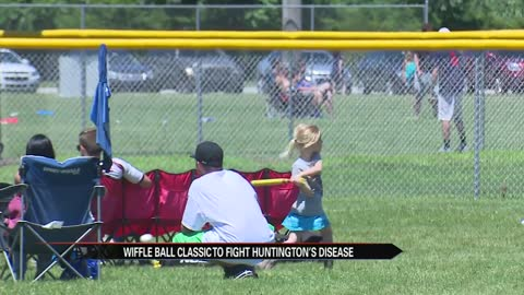 Wiffle ball tournament raises money for Huntington's Disease research