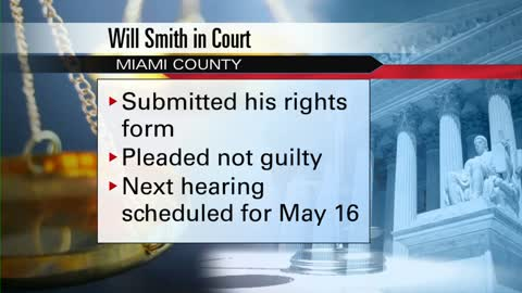 Will Smith pleads not guilty to theft