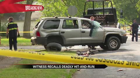 Witness recounts deadly South Bend hit-and-run crash