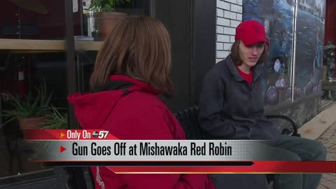 Witness speaks after gun fires off in Red Robin