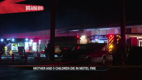 woman and 5 of her children die in berrien county motel fire