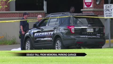 woman killed in fall from parking garage at memorial hospital