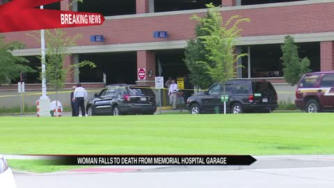 woman killed in fall off parking garage at memorial hospital
