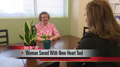 ONLY ON:Woman's life is saved thanks to a first-time use of new technology