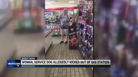 Mishawaka woman, service dog kicked out of 7-Eleven store