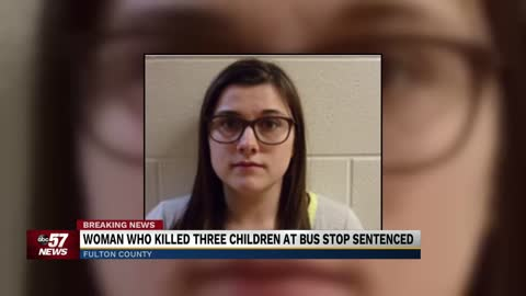 Woman who killed 3 children, injured 1 sentenced to 4 years in...