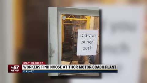 Employees discover noose at Thor Motor Coach in Elkhart