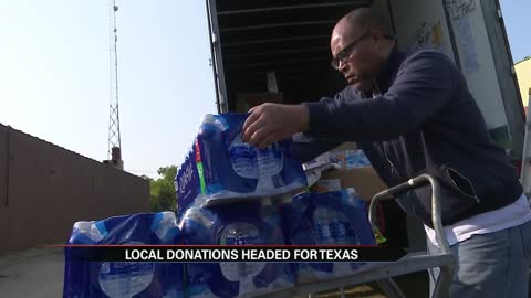 WUBS 89.7 FM sends truck filled with donations to Texas