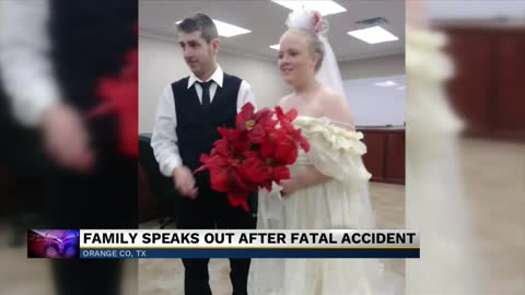 Young couple dies in collision leaving their wedding ceremony