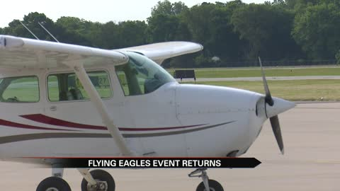 Young Eagles free flights is back at the Elkhart Airport