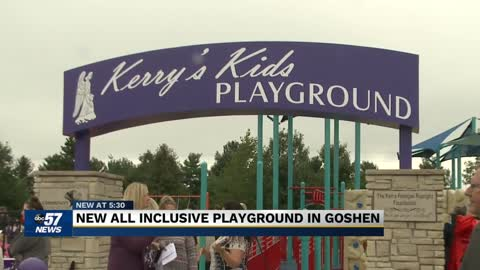 Young Goshen girl inspires a new accessible playground
