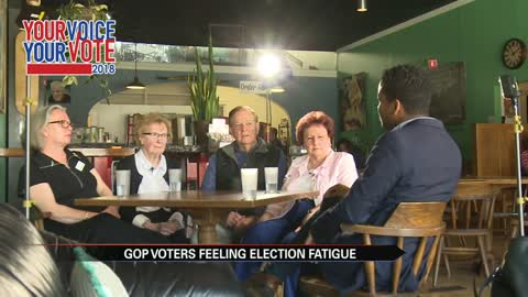 Your Voice: voters feeling election fatigue