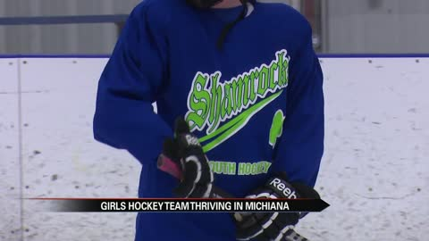 All-girl youth hockey team making history in Michiana