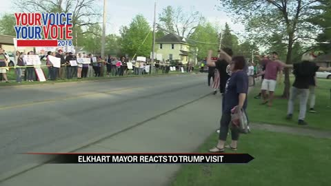 Zero arrests, few issues during Trump rally in Elkhart