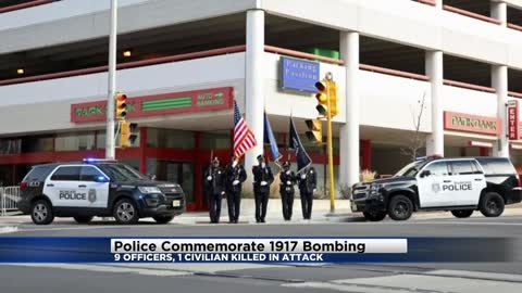 Milwaukee Police Department remembering officers killed in 1917 bombing