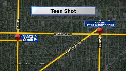 14-year-old boy shot while in stolen car near 26th and Legion
