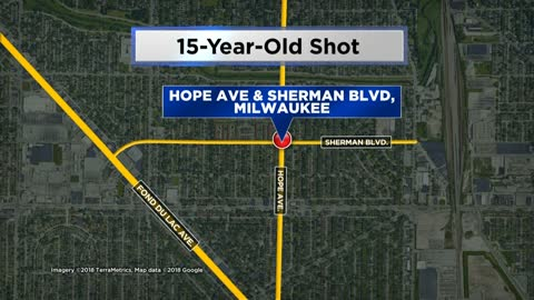 Milwaukee Police: 15-year-old girl struck by bullet while walking near Sherman and Hope