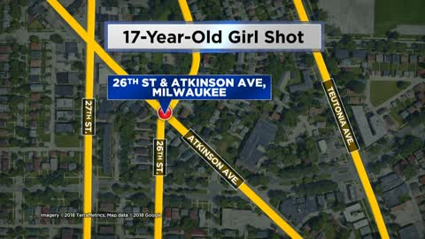 17-year-old girl shot after fight breaks out on Milwaukee's north side