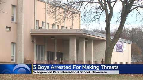 Milwaukee police arrest boys ages 12, 13 and 14 for making terrorist...