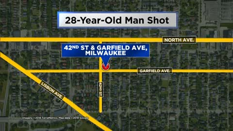 Man shot near 42nd and Garfield, police looking for suspects