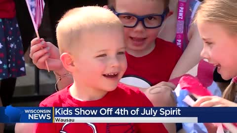 Wausau kids show off Fourth of July spirit