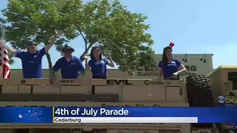 Parades held across southeast Wisconsin celebrating July 4