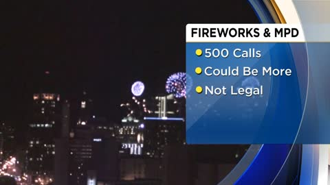 Milwaukee Police get over 500 calls for fireworks July 4th
