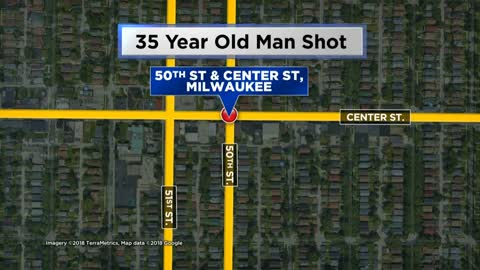 35-year-old man shot near 50th and Center