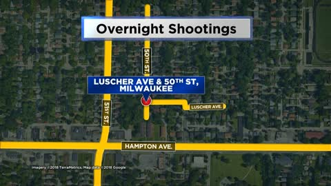Two hurt after gunshots fired into home near 50th and Luscher