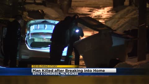 UPDATE: 37-year-old man shot, killed after breaking into home near 65th and Congress