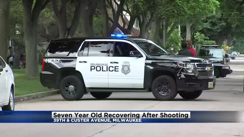 Milwaukee Police: 7-year-old hurt after woman fires gun into vehicle