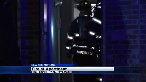 No one hurt in apartment fire near 88th and Vienna