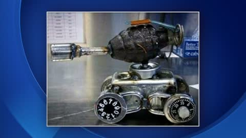 Deputies Seize Grenade At Mitchell International