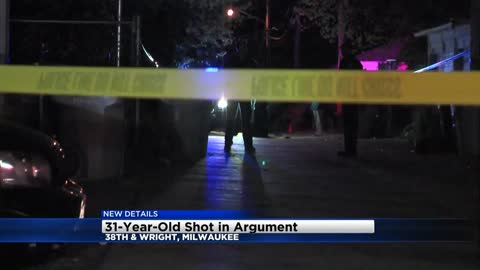 One person injured following shooting near 39th and Wright