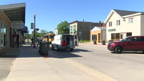 Bicyclist critically injured in crash with school bus in Dousman