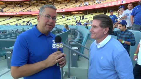 """It's the ultimate:"" Dodger legend Steve Garvey talks playoff atmosphere in LA"