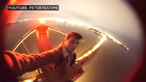 Washington Co. teens climb Golden Gate Bridge, dangle from cables