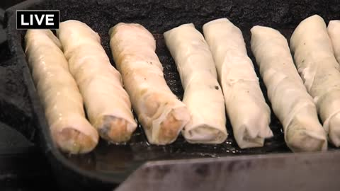 One local entrepreneur hopes his spring rolls sell like hot cakes
