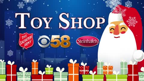 CBS 58 and Steinhafels team up with Salvation Army for toy drive