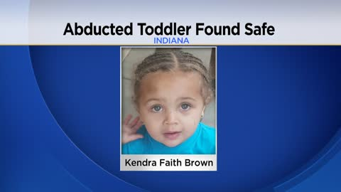 Missing toddler found safe in Indiana, father in custody